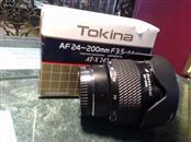 TOKINA Lens/Filter AT-X 242 24-200 MM F3.5 -5.6